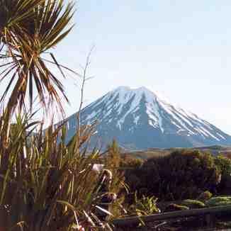 Mount Ngauruhoe - Tongariro NP - New Zealand, Whakapapa