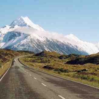 Mt Cook - New zealand, Aoraki-Mt Cook