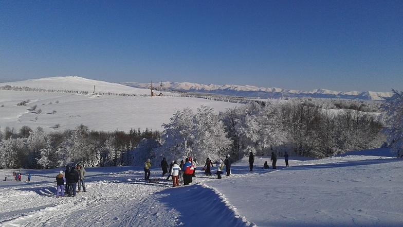 snow, Semenic