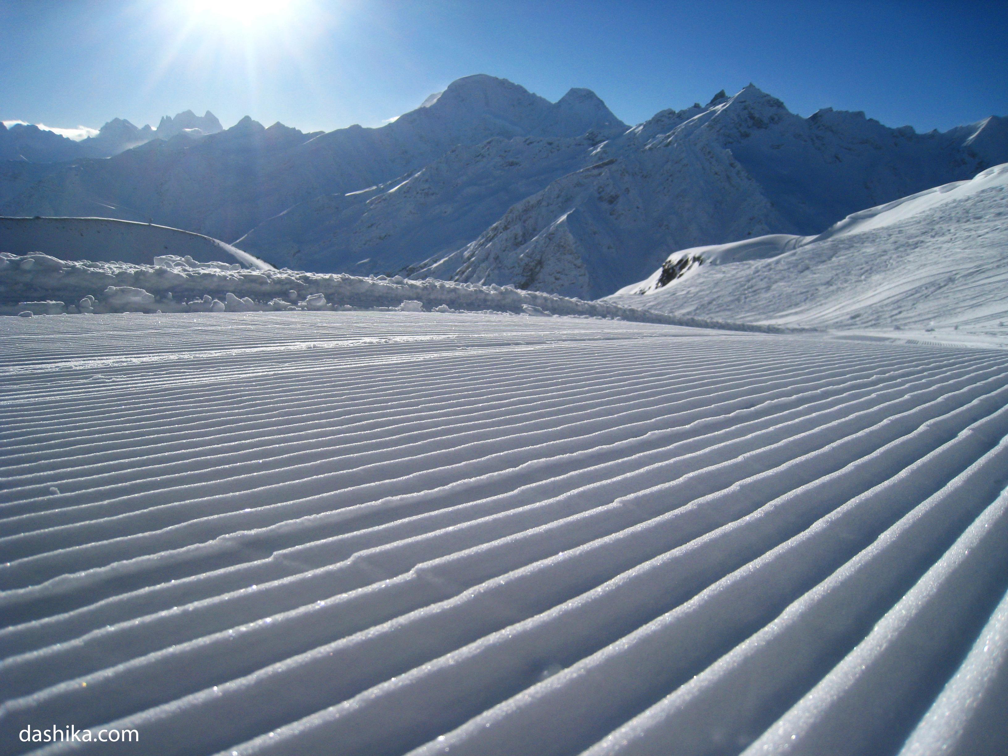 New slopes, Mt Elbrus