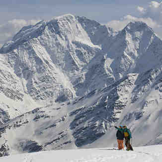View on Donguz-Orun from Elbrus, Mt Elbrus