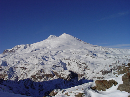 Mount Elbrus Ski Resort by: Liza Pahl