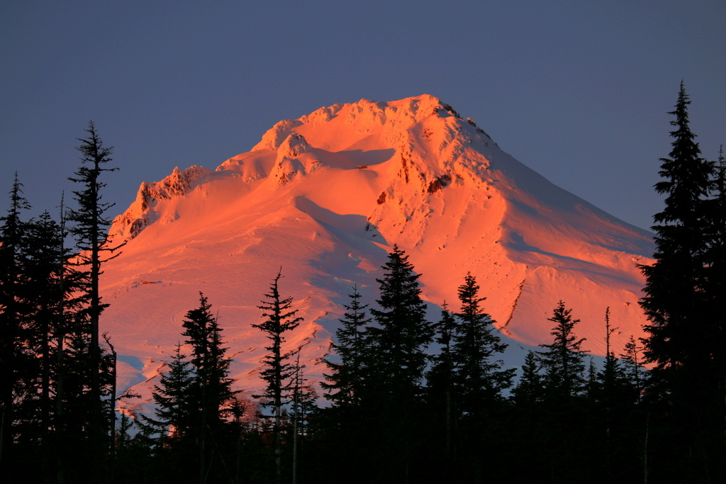 Mount Hood Sunset, Timberline