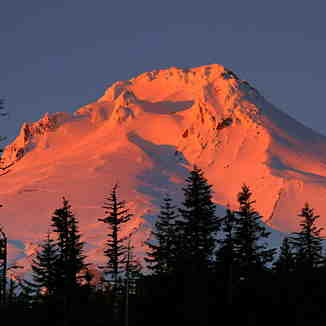 Mount Hood Sunset, Timberline