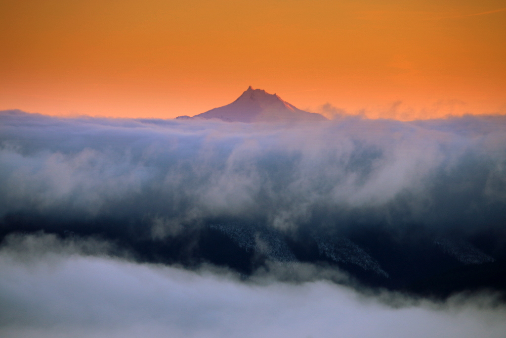 View from Mt Hood, Timberline