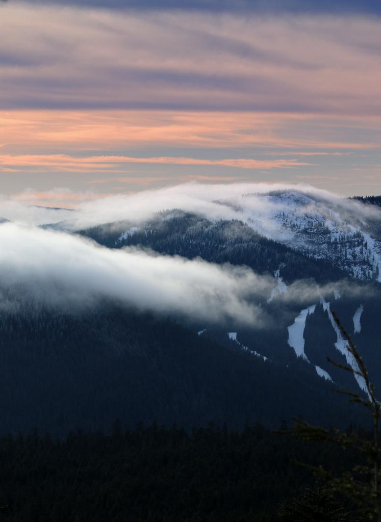 Night Skiing at Mount Hood, Mt Hood Ski Bowl