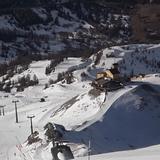 View down Mt Motta, Sestrière (Via Lattea)