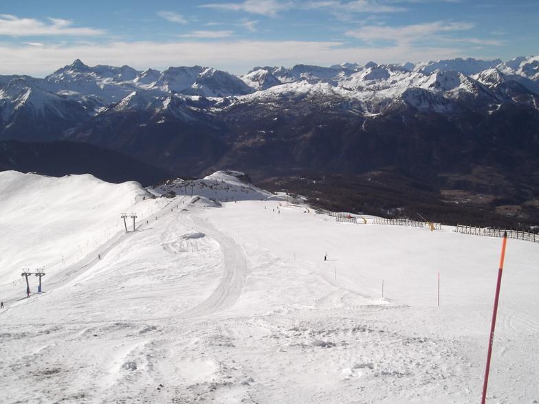 San Sicario (Via Lattea) snow