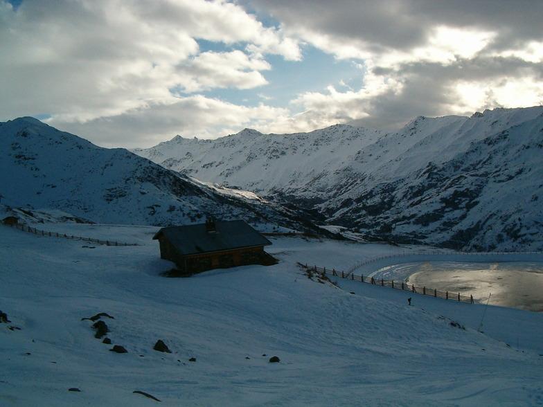 Valmeinier snow