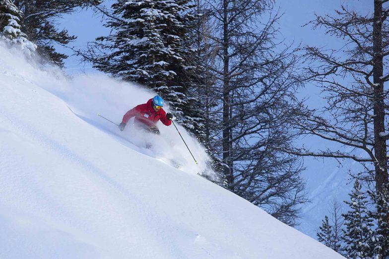 Lake Louise Ski Resort Powder Day