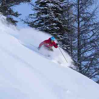 Lake Louise Ski Resort Powder Day