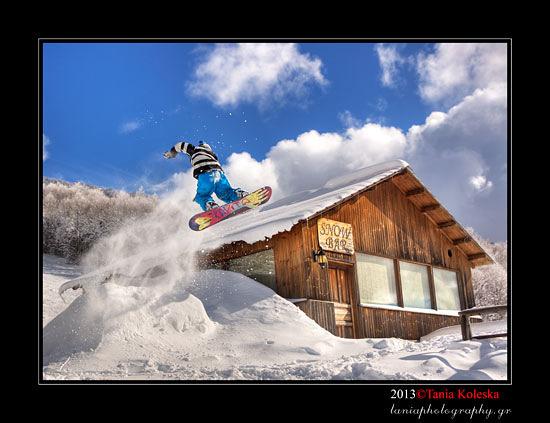 Flying Skier, Bitlis Sapgõr Ski Center