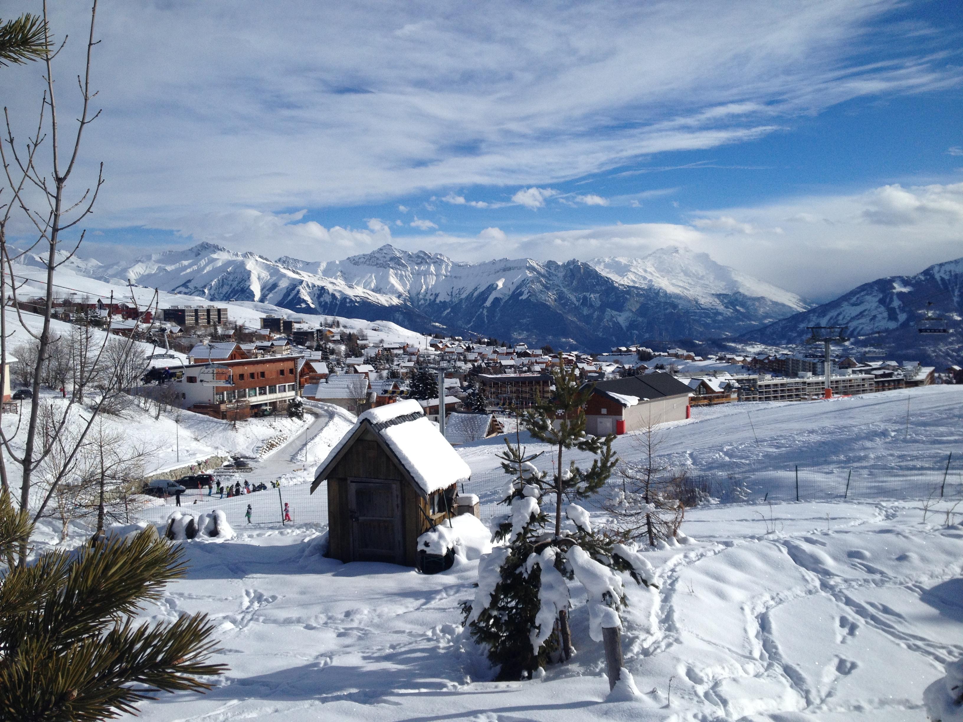 View Of The Village, Le Corbier (Les Sybelles)