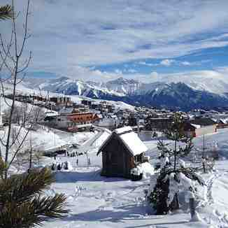 View Of The Village, Le Corbier (Les Sybelles)