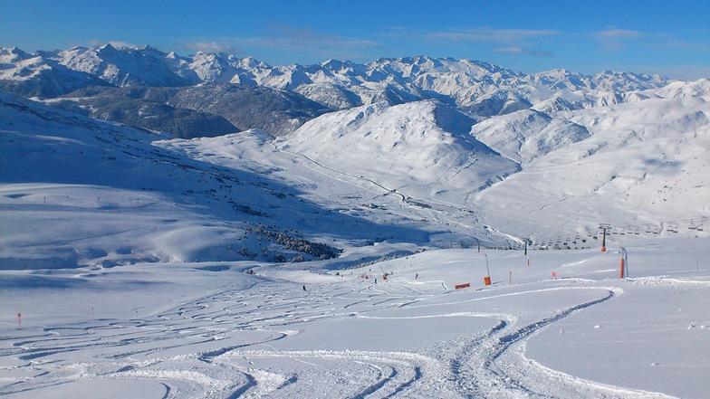 Beret after snowfall, Baqueira/Beret