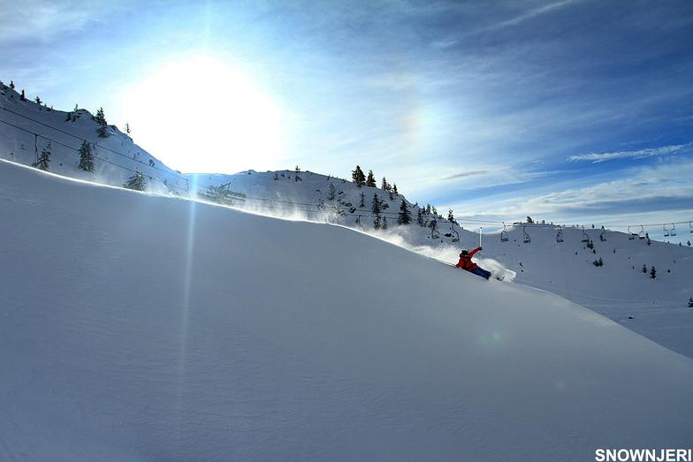 Nol Turjaka ridge ski, Brezovica