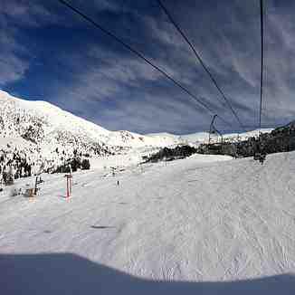 Skilift run situation, Brezovica