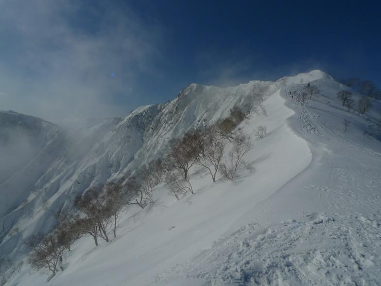 Goryu backcountry, Hakuba Goryu