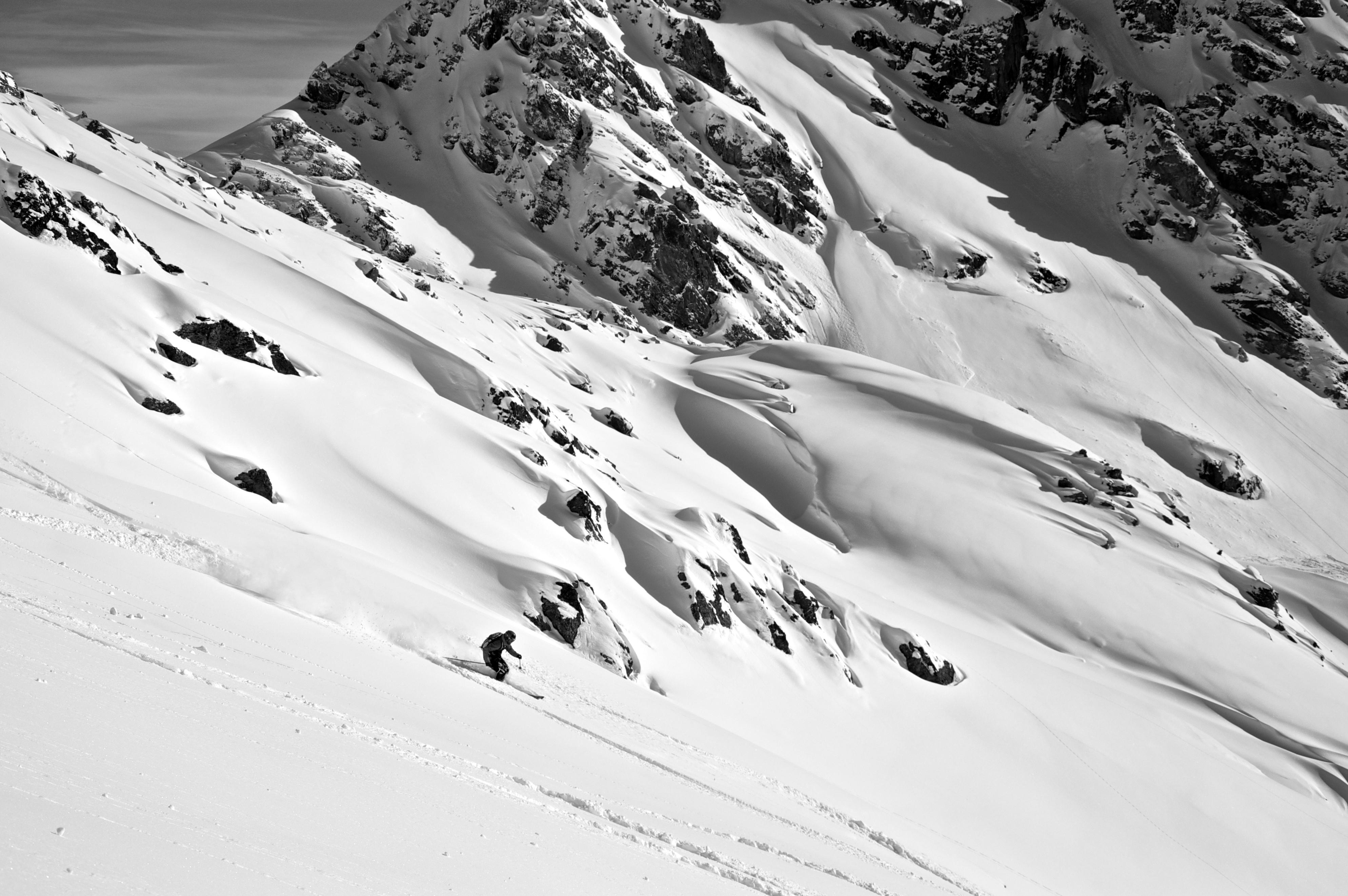 Backside Mont Gele, Verbier
