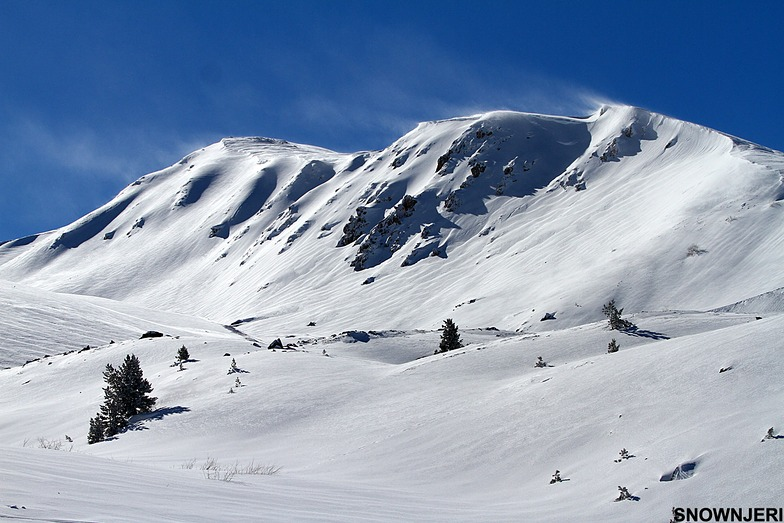 Berevachka mountain in Brezovica