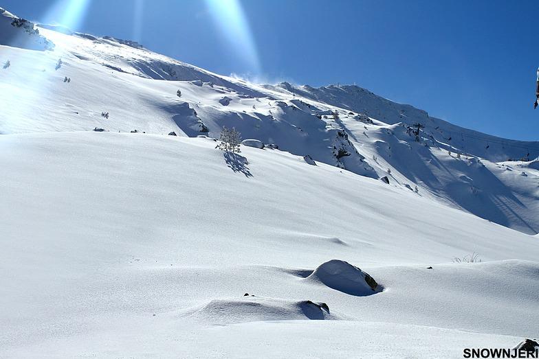 Fresh snow, Brezovica