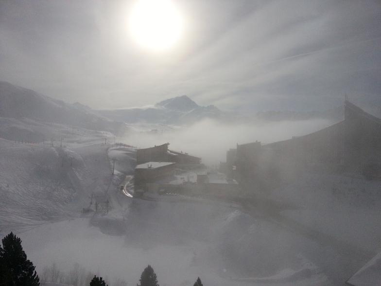 strange light, Les Arcs