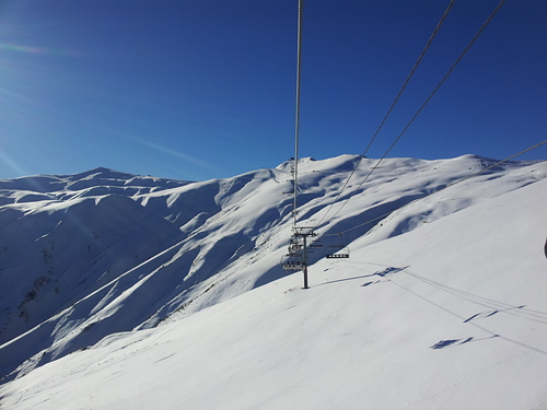La Toussuire (Les Sybelles) Ski Resort by: Ania