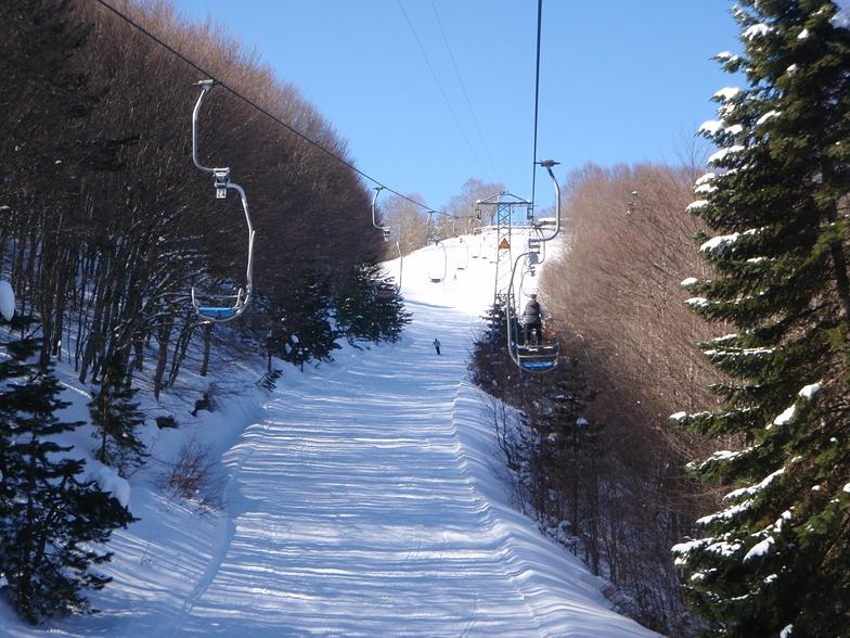 "Metsovo. ""Karakoli"" run, Metsovo Ski Resort"