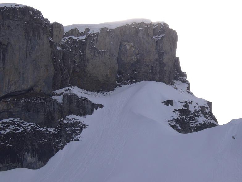 Fen from the top station, Ifen (Kleinwalsertal)