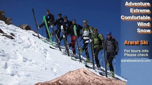 Ağrı Dağı or Mount Ararat Ski Resort by: adem saltik