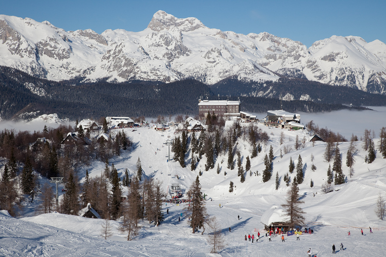 Slovenian resort of Vogel