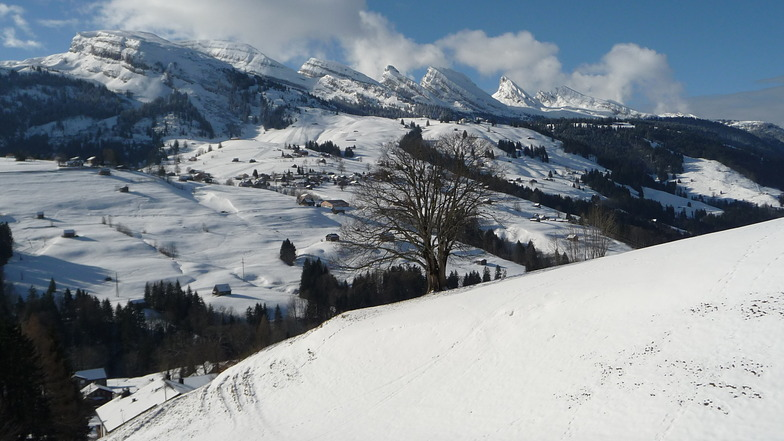 Wildhaus - Toggenburg snow