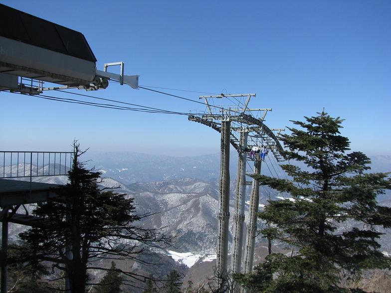 Yongpyong high chairlift, PyeongChang-Yongpyong