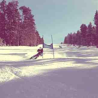 Karcan Cengiz Giant Slalom Training, Sarıkamış