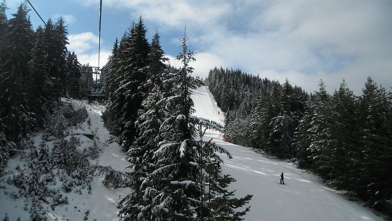 view from teleski, Chepelare
