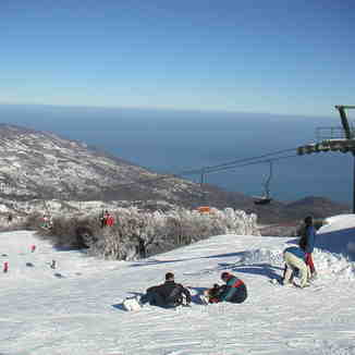 Skiing between two seas. Pelion resot (Greece), Pilion