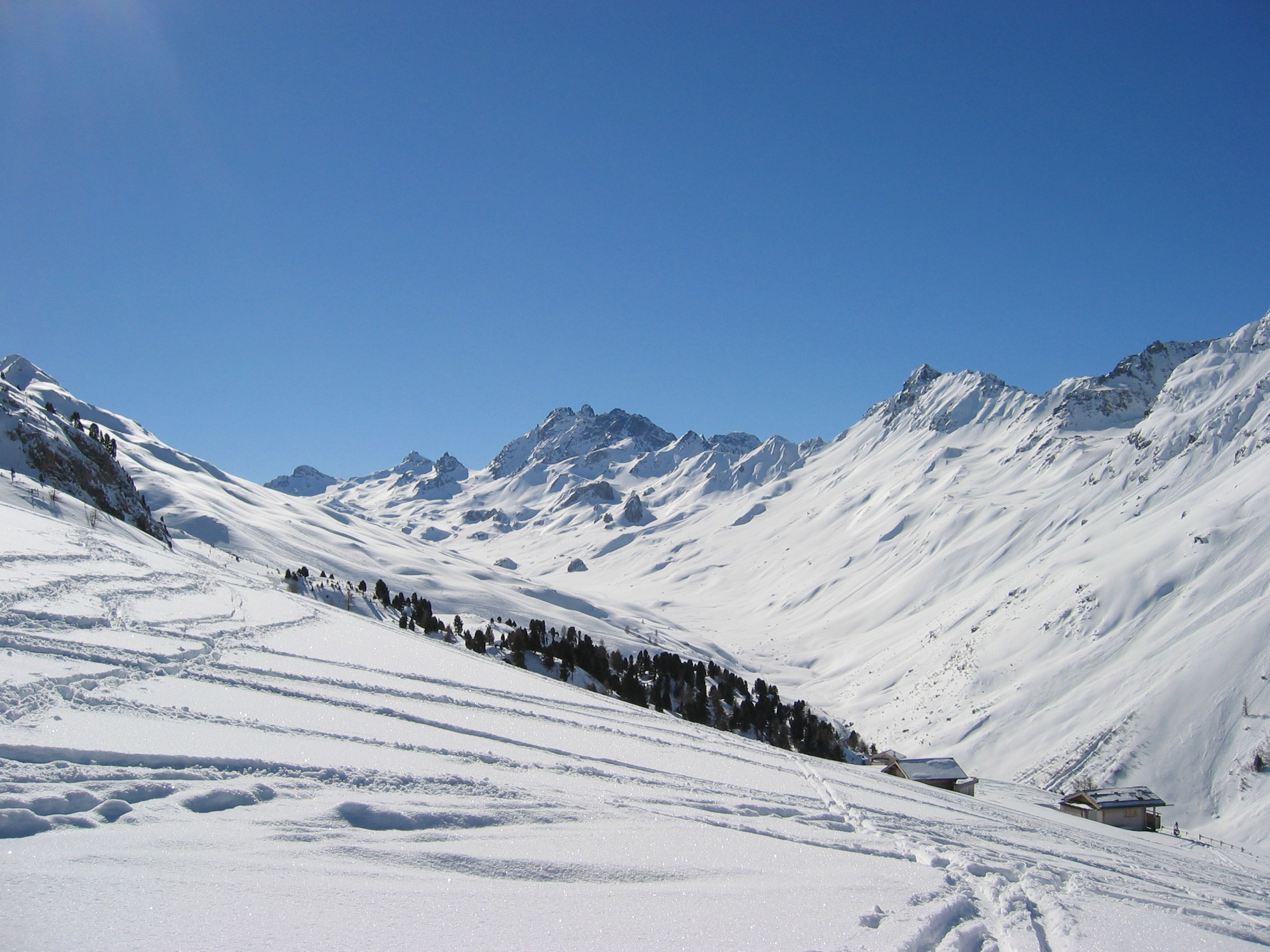 Early morning in Ischgl