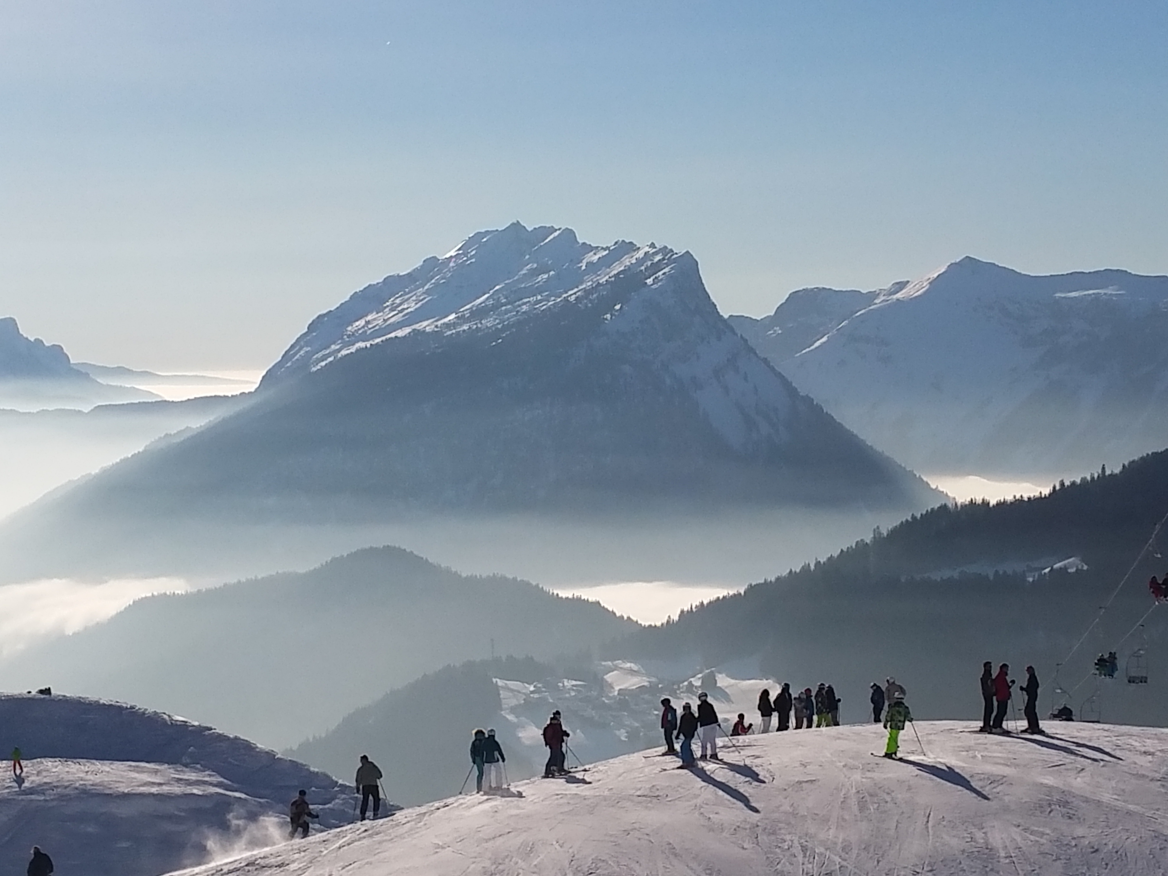 Another Day in Heaven, Le Grand Bornand