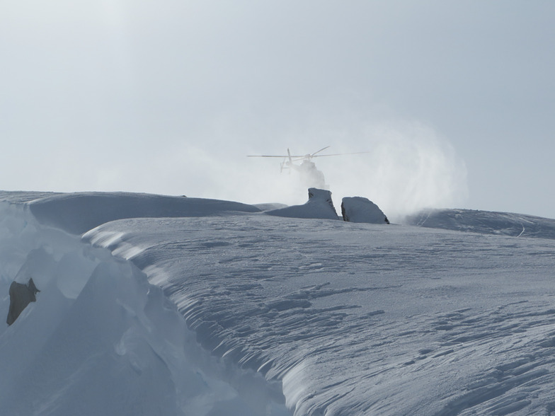ground affect, Coast Range Heliskiing
