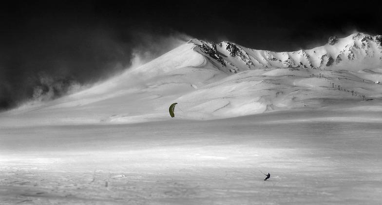 snowkite area Erciyes -kayseri, Erciyes Ski Resort
