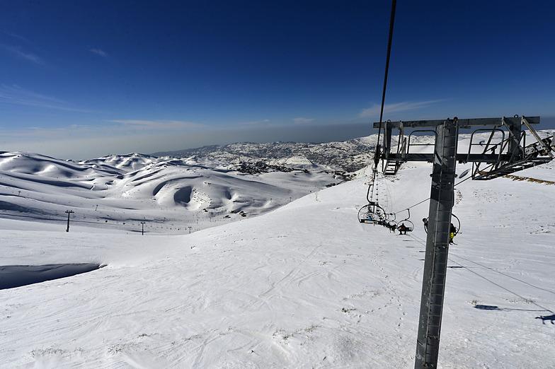 Jabal Deeb - Lebanon, Mzaar Ski Resort