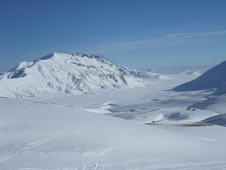 Campo Imperatore snow
