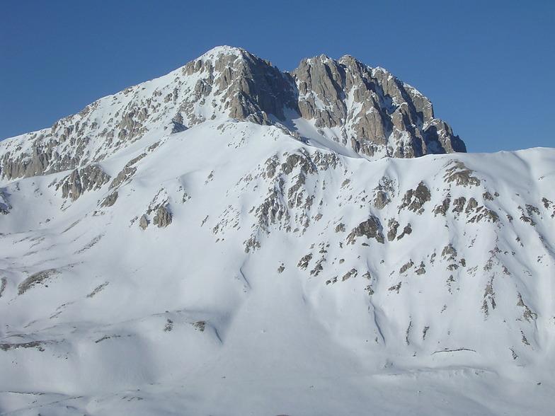 Corno Grande 2912 meters, Campo Imperatore
