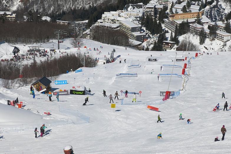 Snowpark, Gourette