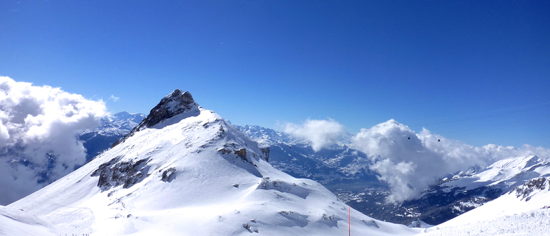 "PERFECT SUNNY DAY   ""ON TOP"", Crans Montana"