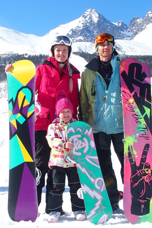 Snowobard Family, Tatranská Lomnica