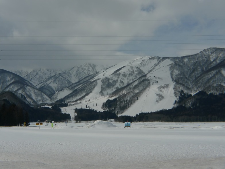 From the valley, Hakuba Goryu