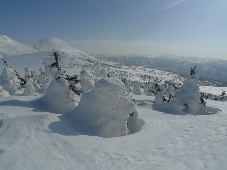 Snow monsters, Hakkoda