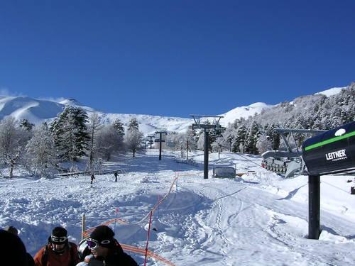 Mount Etna Nicolosi Ski Resort by: Massimo Fabbrici