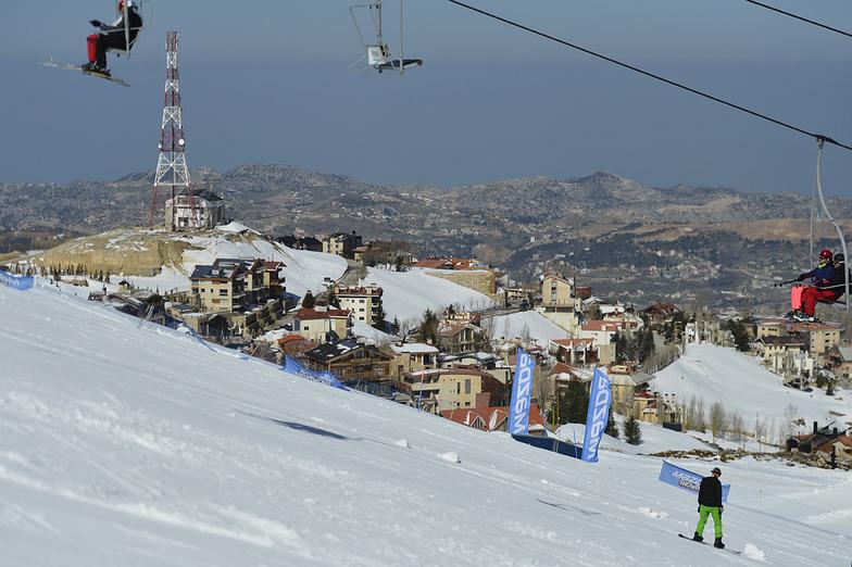 Jonction Slope, Mzaar Ski Resort